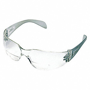 Clear Anti-Fog Reading Glasses, +2.25 Diopter
