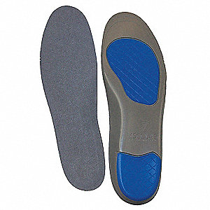 Unisex Anti-Fatigue Molded Insole, Size: Men 8 to 10, Women 10 to 12
