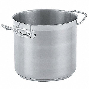 Stainless Steel Stock Pot; Capacity (Qt.): 11