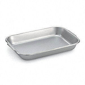 "16-1/8"" W x 11-1/8"" L x 2-1/4"" D Stainless Steel Bake and Roast Pan"