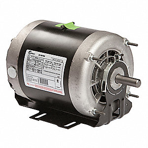 1 HP Belt Drive Motor, 3-Phase, 1725 Nameplate RPM, 200-230/460 Voltage, Frame 56