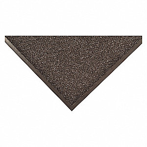 "Indoor Entrance Runner, 60 ft. L, 3 ft. W, 5/16"" Thick, Rectangle, Charcoal"