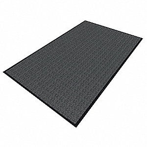ENTRANCE MAT,YARN/PVC,CHARCOAL,3X5