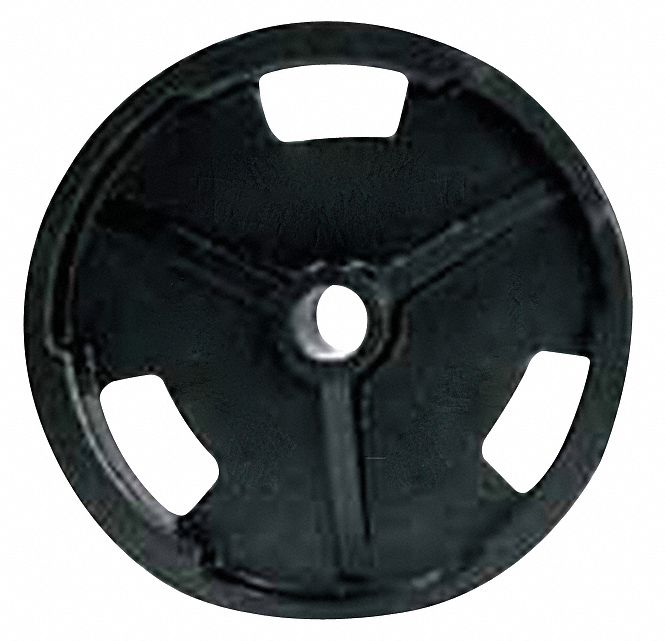 Weight Plate, Black; Weight: 5 lbs.