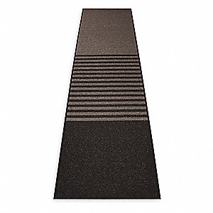 Charcoal Decalon® Yarn, Entrance Runner, 3 ft. Width, 12 ft. Length
