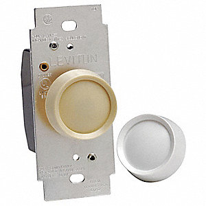 Lighting Dimmer, Rotary, Incandescent Lamp Type, 1-Pole Switch Type