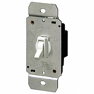 DIMMER,TOGGLE,600W,3-WAY,INCANDESC,
