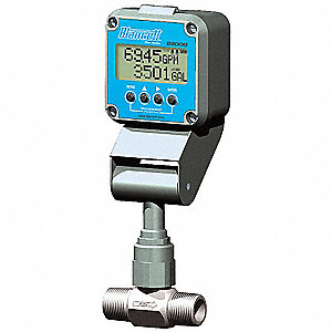 Remote Mount Advanced Flow Monitor Display