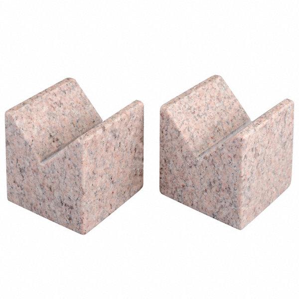 Granite Blocks Instrument : Starrett granite v block pink aa pr rdh