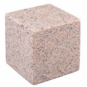 STARRETT Granite Cube,Pink,6-Face,AA,4x4x4 - 6RDH8|81982 - Grainger