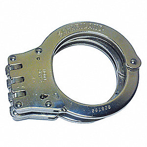 Standard Hinge Handcuffs-Nickel