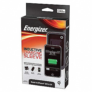 Power Sleeve for iPhone 3G, 3GS&#x3b; Charges Up To (1) Device