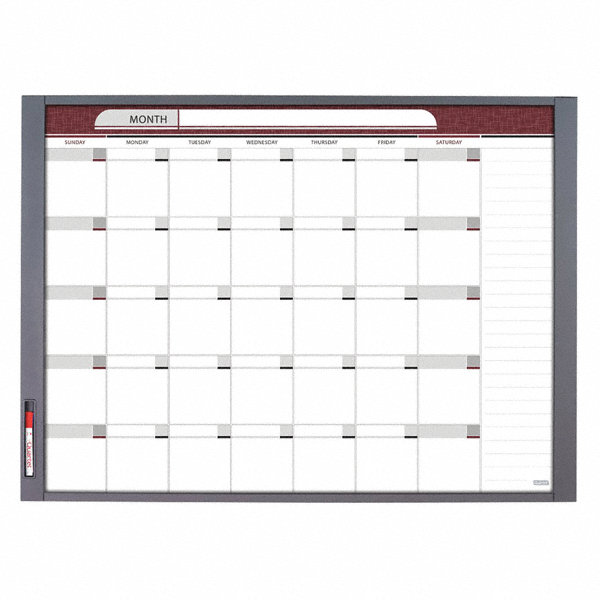 Quartet Gloss Finish Melamine Dry Erase Board Wall