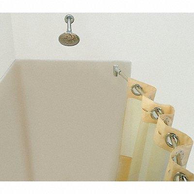 6RGJ0 - Curved Shower Rod 57-3/4In 6In Proj. PK6
