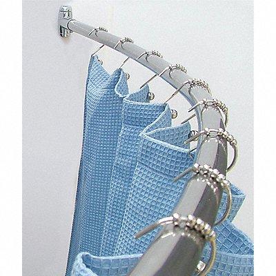 6RGJ1 - Curved Shower Rod 57-3/4In 6In Proj PK6