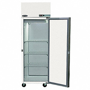 Refrigerator,Pass Thru,25 CF,Solid Door