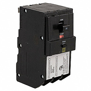 Plug In Circuit Breaker, QO, Number of Poles 3, 15 Amps, 240VAC