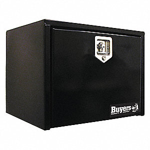 Steel Underbody Truck Box, Black, Double, 8.0 cu. ft.