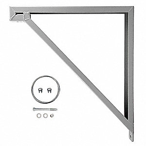 Wall Mounting Bracket For Use With MAC-18-339-B4-J1, MAC-20-327-B4-J1, MAC-18-339-B4-J1, MAC-30-324-