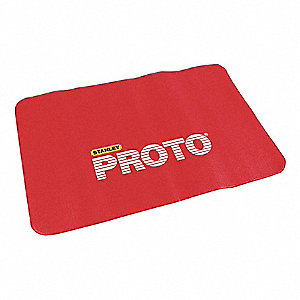 "24 x 36"" Vinyl Fender Cover, Red&#x3b; PK2"