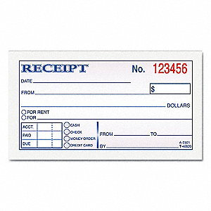 Https://static.grainger.com/rp/s/is/image/Grainger...  Payment Receipt Book