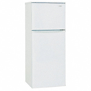 Refrigerator and Freezer,7.09cu ft,White