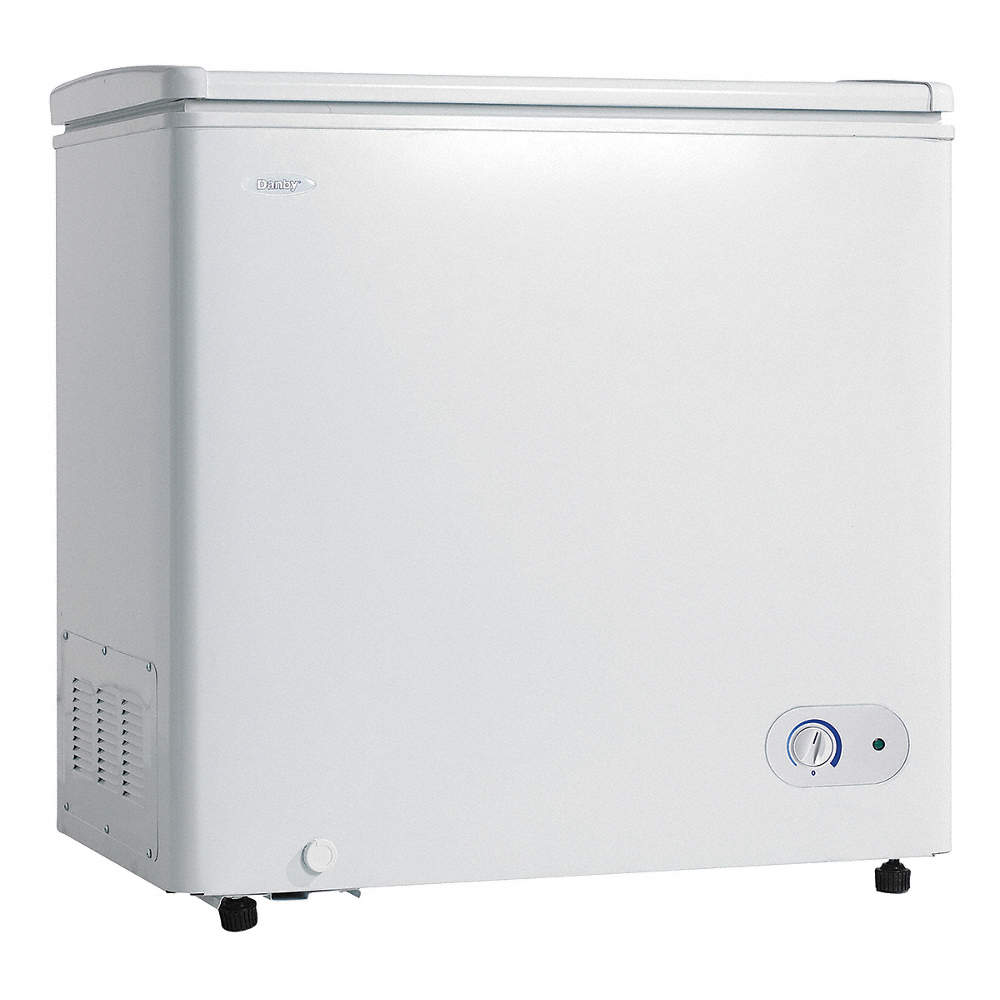 Compact Chest Freezer, 7.2 Cu. Ft. on