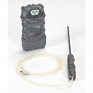 Multi-Gas Detector,5 Gas,-4 to 122F,LCD