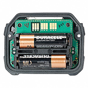 6.7VDC AA Alkaline Replacement Battery Kit, Black, 1 EA