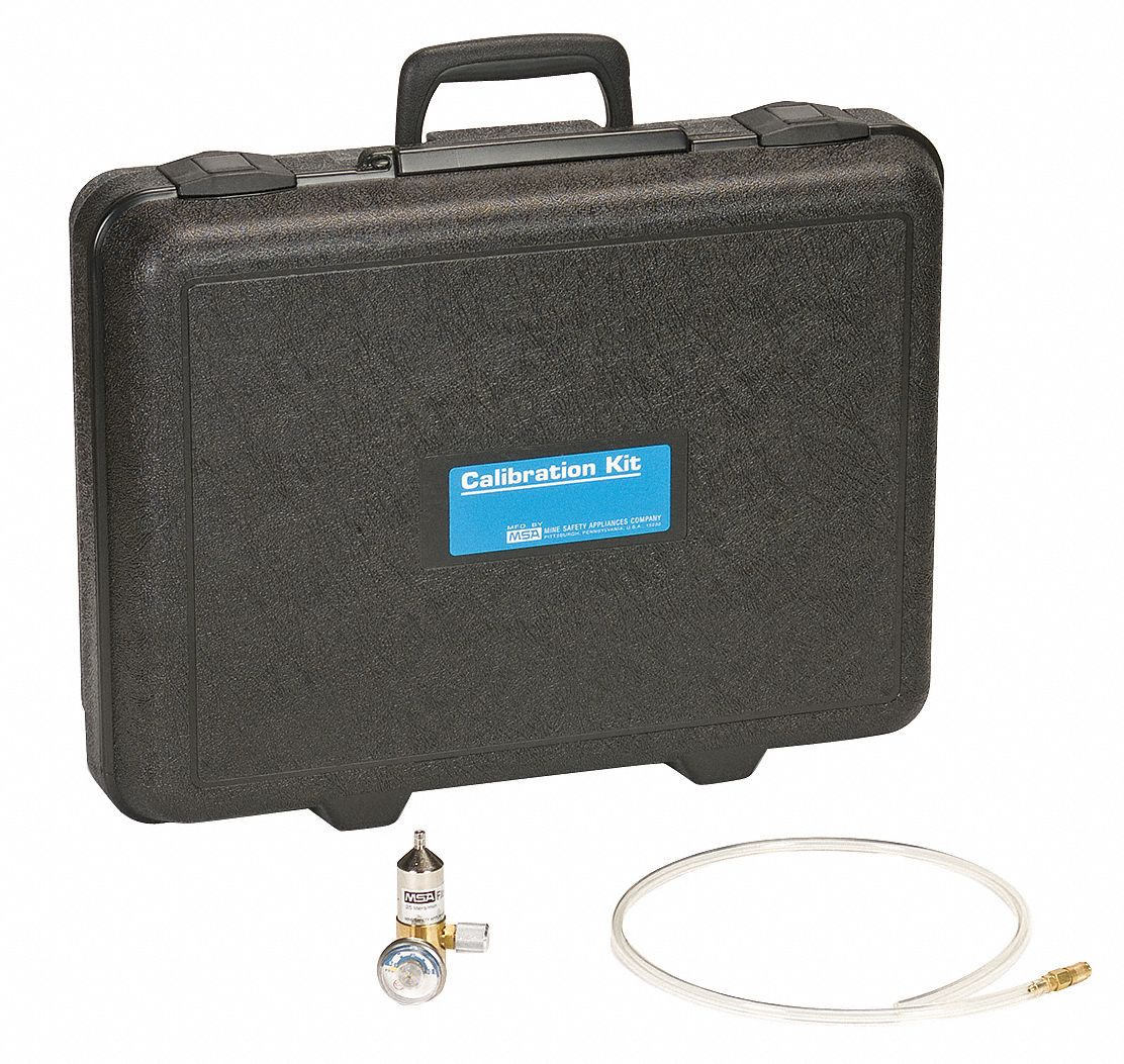 Calibration Kit,  For Use With MSA Gas Detectors