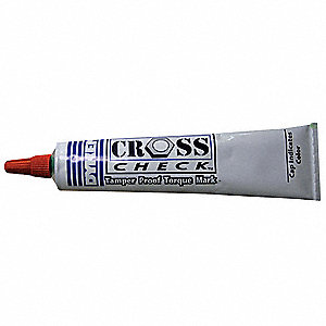 Tamperproof Tube Marker, Red