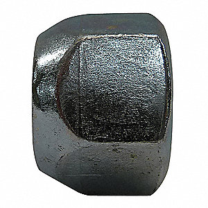 9 16 18 Hex Wheel Nut Zinc Plated Finish Steel