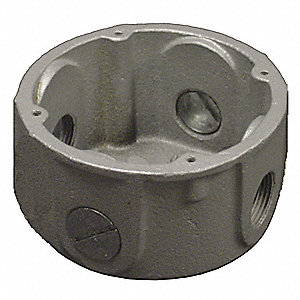 "X-Style 3/4"" Conduit Outlet Body, Threaded Iron, 23.0 cu. in."