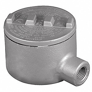 "E-Style 3/4"" Conduit Outlet Body, Threaded Copper Free Aluminum, 18.0 cu. in."