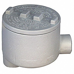 "LB-Style 1-1/2"" Conduit Outlet Body, Threaded Copper Free Aluminum, 72.0 cu. in."