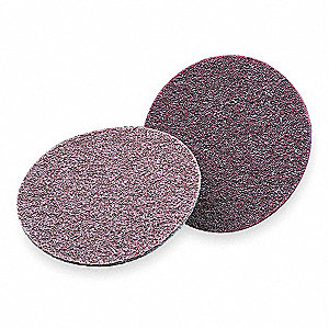 "7"" Hook-and-Loop Sanding Disc, Aluminum Oxide, Extra Coarse, Non-Woven, SE-DH, EA1"