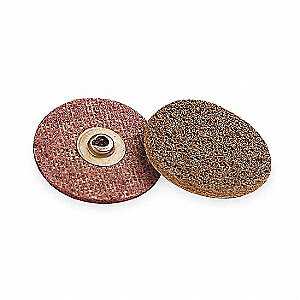 "3"" Quick Change Disc, Aluminum Oxide, TSM, Medium, Non-Woven, SC-DM, EA1"
