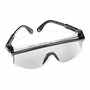 Astrospec 3000® Scratch-Resistant Safety Glasses, Gray Lens Color