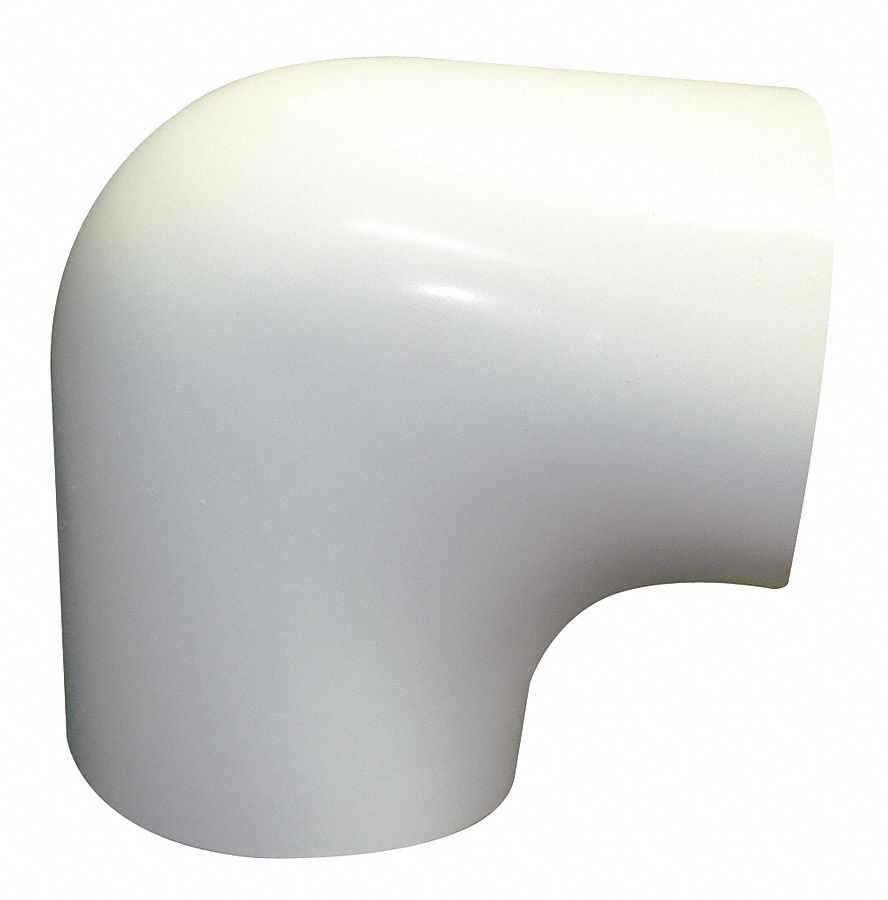 90° Elbow Insulated Fitting Cover, Fits Max. O.D. 2 in