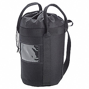 Rope Bucket,Black,Nylon