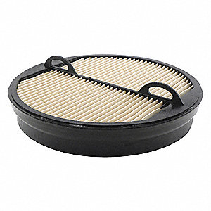 Air Filter,9-3/8 x 2-3/16 in.
