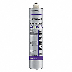 1.67 gpm Replacement Filter Cartridge, Fits Brand: Everpure, 5 Micron Rating