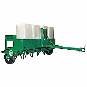"48"" Lawn Aerator, Pull, Spike Dia. 3/4"", Aeration Depth 3"""