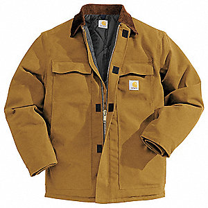 Coat,Insulated,Brown,XL