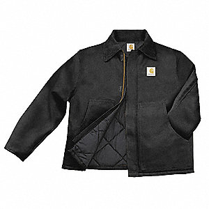 Jacket,Unhooded,Quilt Lined,Black,S