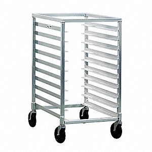 1/2 Size Bun Pan Rack, Open Top