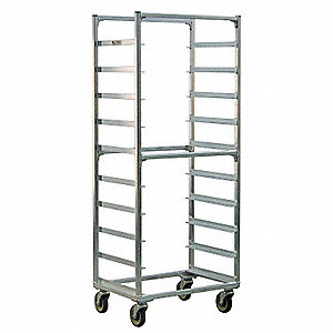 Full Bun Pan Rack, Side Load, 10 Capacity