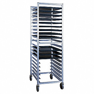 Bun Pan Rack,Welded,20 Pan Capacity