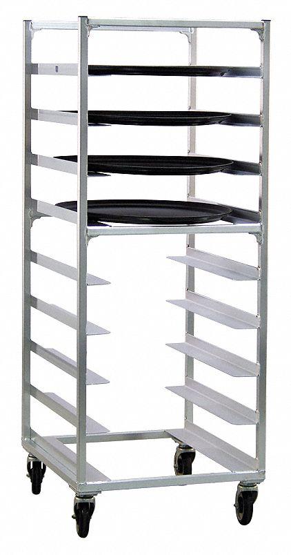 New Age Oval Tray Rack 9 Tray Capacity 6thz4 95681 Grainger