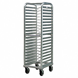 Wide Angle Pan Rack, 20 Set Angle Runners